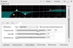 EQ-Equaliseur paramétrique