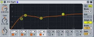 mixage audio : EQ