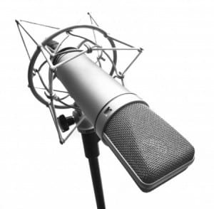 Enregistrer sa voix : micro statique large membrane