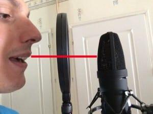 Enregistrer sa voix : positionnement de la bouche
