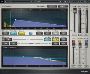 Mixage audio : Trueverb de Waves