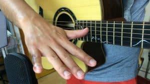 Prise de son guitare position micro