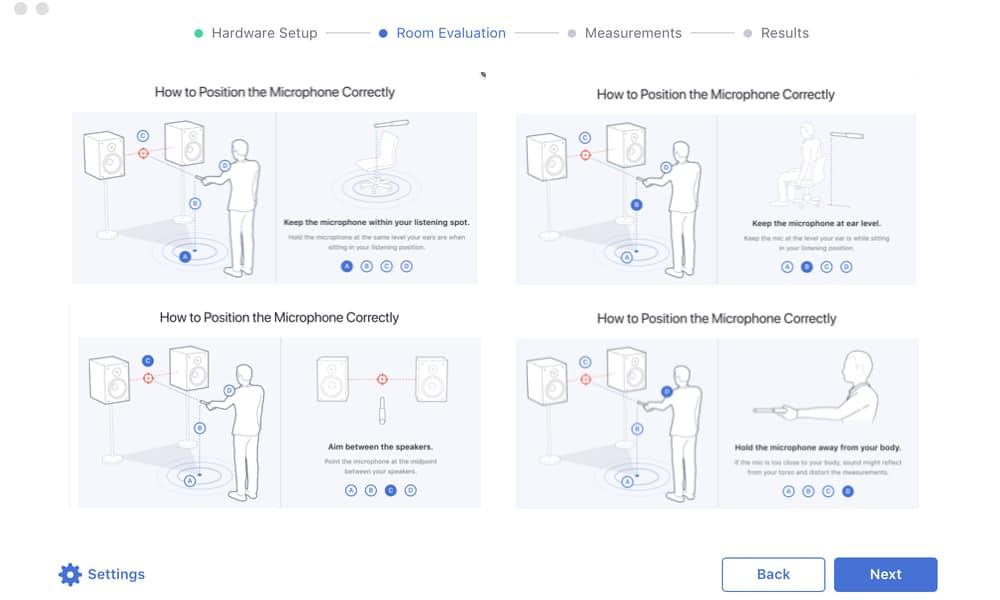 Les 4 points de recommandations de sonarworks pour le placement du micro