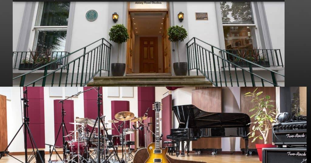 formation mixage audio : la célèbre Abbey road institute