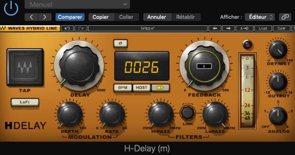 effet haas : utilisation du H-Delay